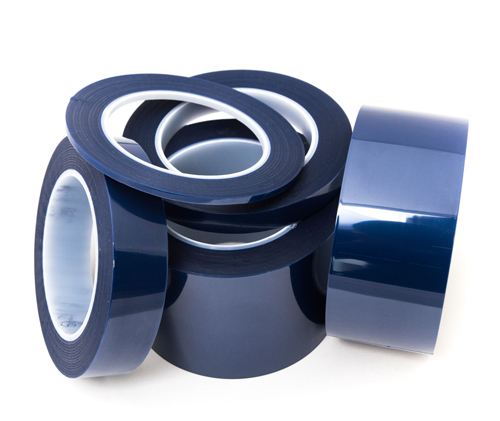 blue polyester masking tapes