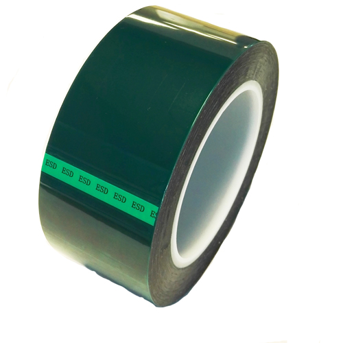 esd safe green polyester tape