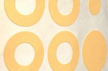 donut style masking discs
